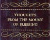 Logo of Thoughts From the Mount of Blessing (Steve Hamstra)