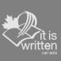 Logo of It Is Written Canada