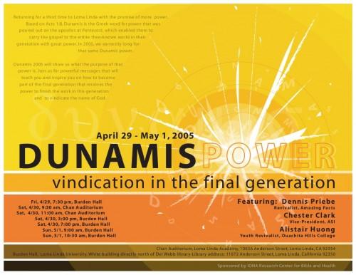 Logo of Dunamis 2005