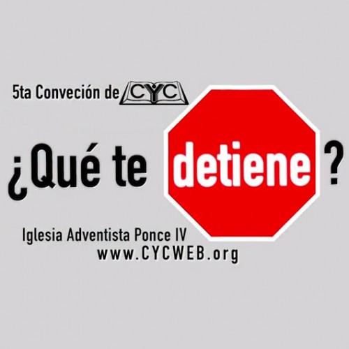 Logotipo de CYC 2014: ¿Qué te detiene?