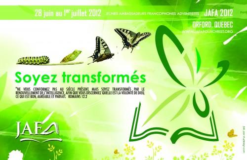 Logo de JAFA 2012